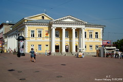 Дом Дворянского собрания (ул. Б. Покровская, 18), архитектор И.Е. Ефимов (1822–1826 гг.)