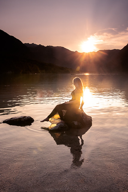 Sunset, Lake Bohinj