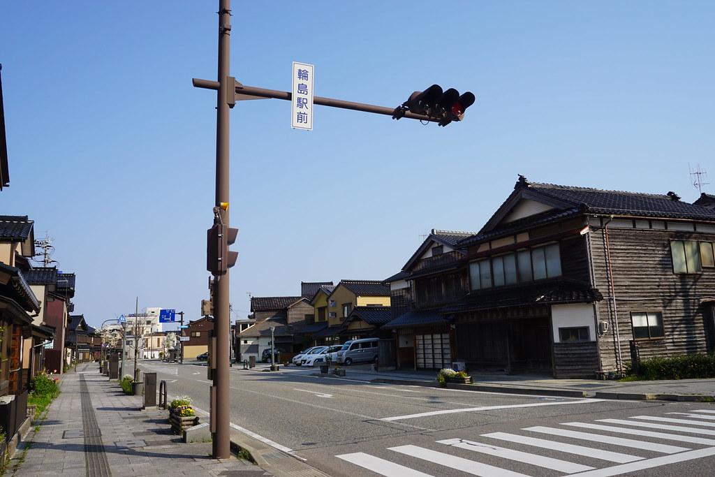 輪島駅前交差点