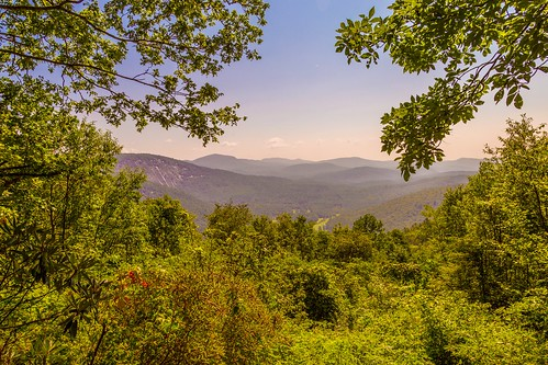 valley scenic landscape nature sky roads mountains sapphirevalley northcarolina highlands parks sunrise hikes