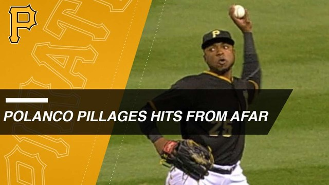 Gregory Polanco's uncanny knack for 9-3 assists