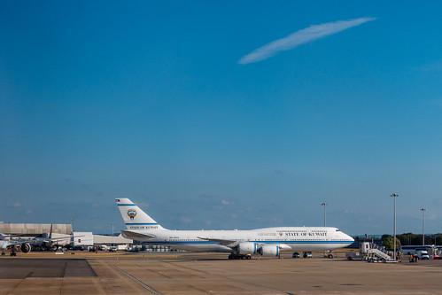 Kuwait government aircraft