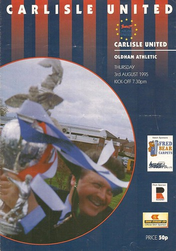 70. Carlisle V Oldham 3-8-95   by cumbriangroundhopper