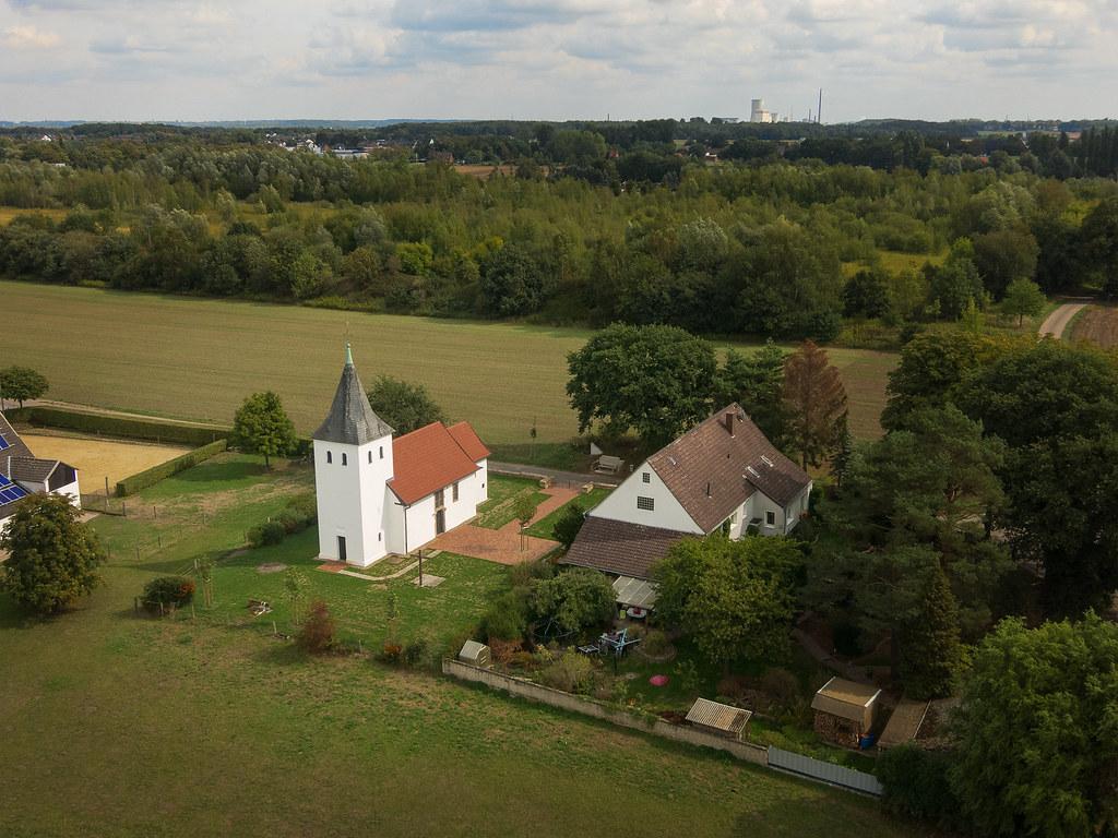 St. Laurentius Kapelle-von oben