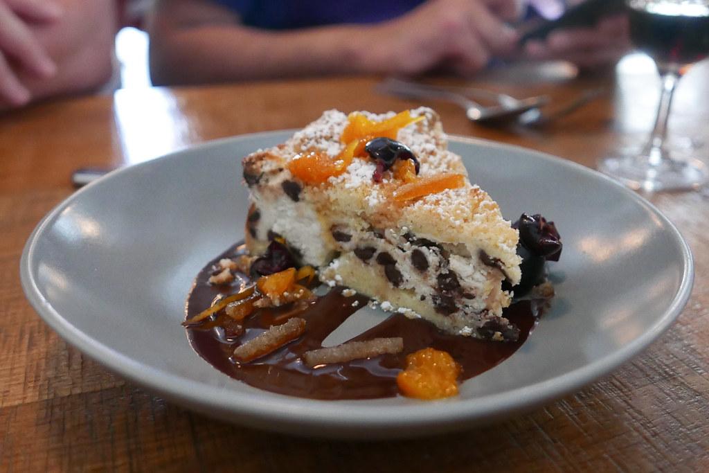 Sbriciolata Cheesecake, Sardinian sheep's milk ricotta, da ...