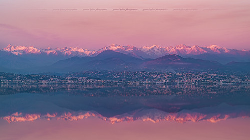 Winter sunset around the French Alps & French Riviera | by Yannick Lefevre