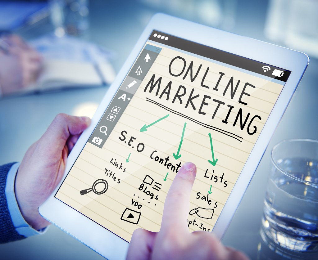 A pictuer of online marketing to better answer Differenced between Online marketing and ecommerce