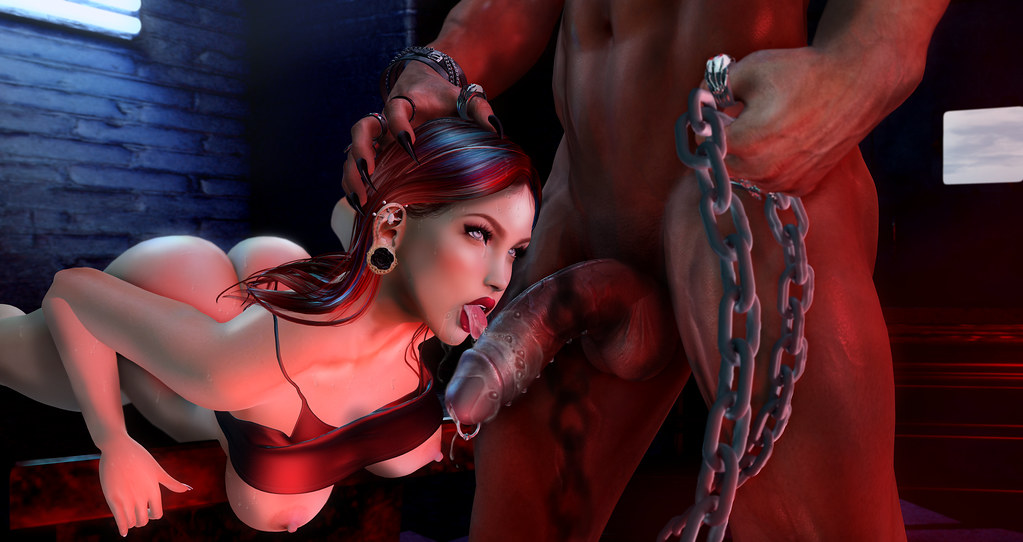 Interracial Gangbang In Red Room