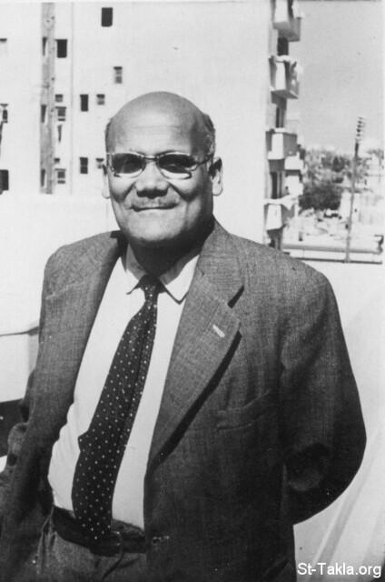 الشماس يوسف حبيب في الخمسينات من القرن العشرين