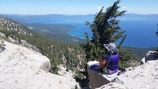 1568 We ate lunch on the summit of Jakes Peak and enjoyed great views of Lake Tahoe | by _JFR_