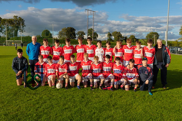 Donaghmoyne win the Under 15 Division 1 League Cup Final 2018.