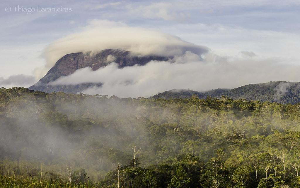 Chapéu de nuvens - Serra do Sol - Roraima