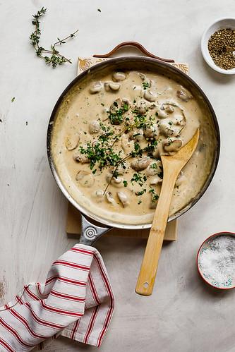 129 - Mushroom Sauce for Steak Recipe | by Onlinefoodblog