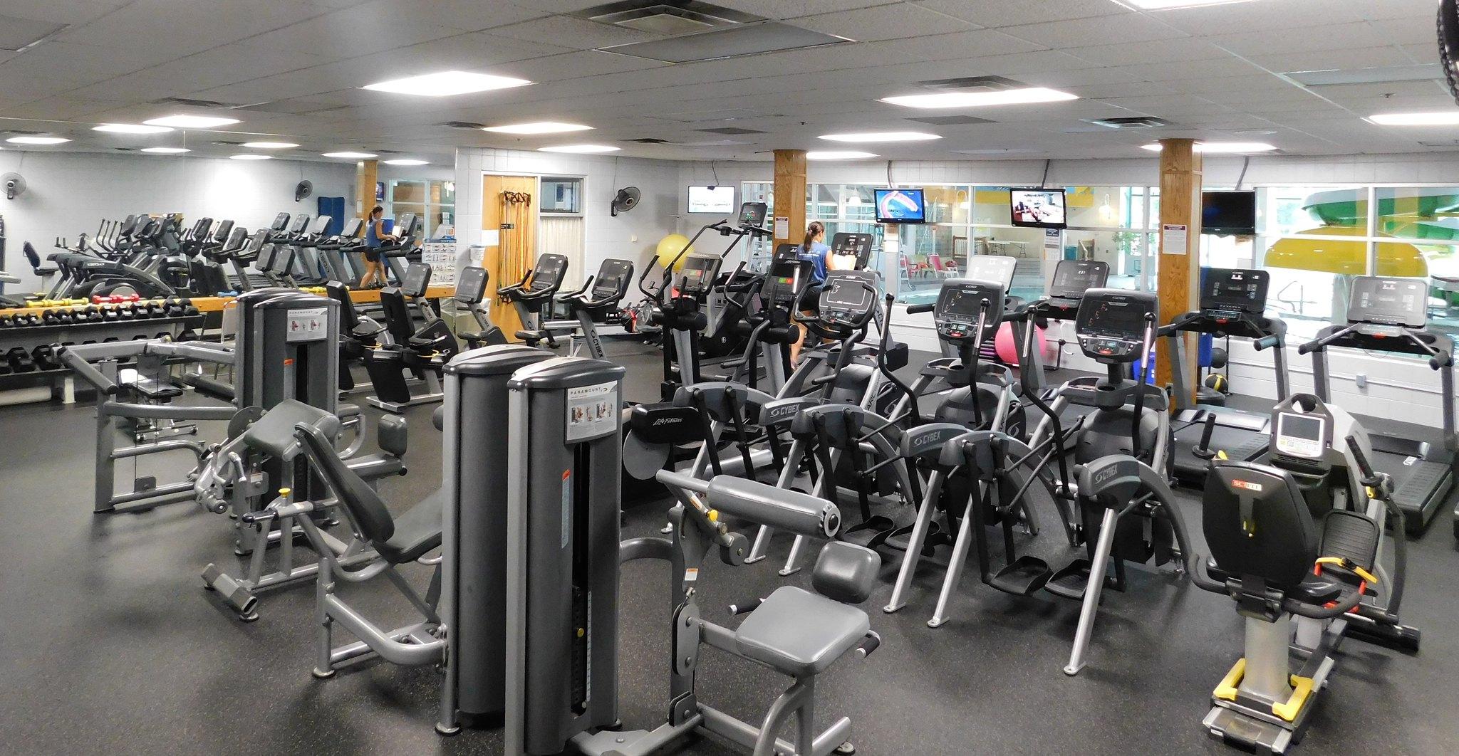 Fitness room becker community center