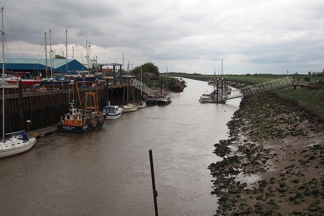 The River Welland at Fosdyke