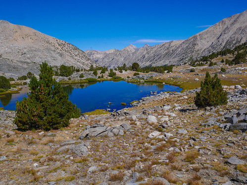 Tarn on the JMT below Forester | by snackronym