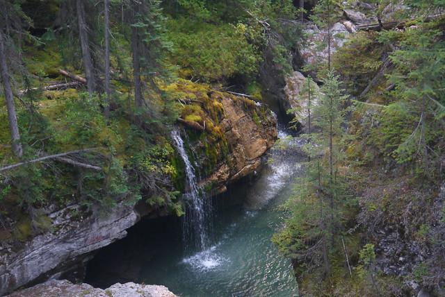 Maligne Canyon Waterfalls, Jasper