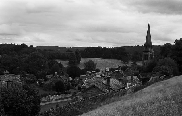 First sight of Edensor