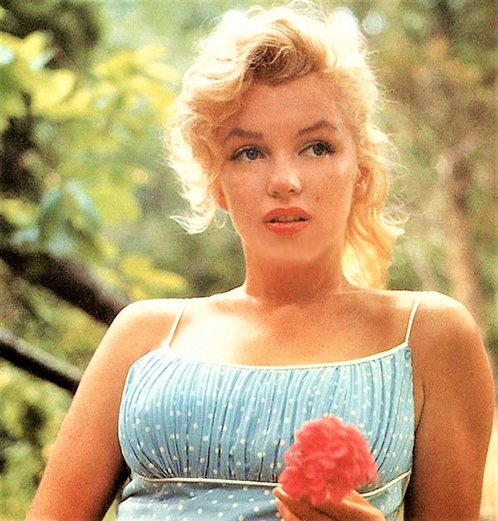 Marilyn Monroe Fotografiada Por Sam Shaw Anoche Soñé Que Flickr