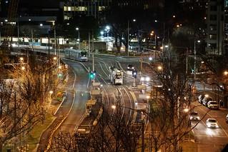 Domain Interchange by night | by Joe Lewit