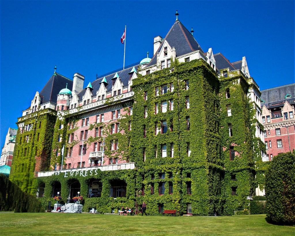 Victoria Island Bc >> Fairmount Empress Hotel Victoria Vancouver Island Bc C Flickr