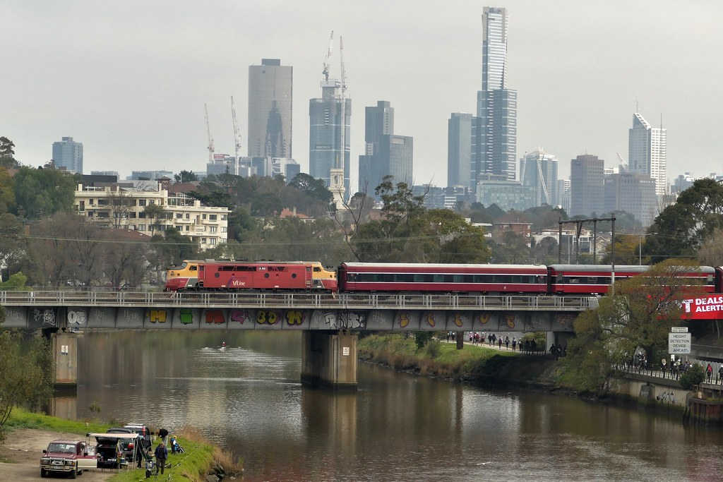 A66 crossing the yarra river near south yarra on 28/8/18 by roreeves