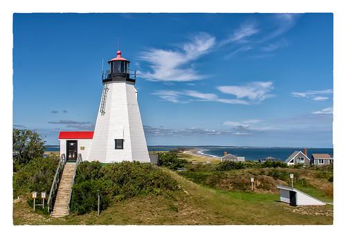 lighthouse ocean large 0918 clichésaturday sky 2018 gurnetpoint plymouth massachusetts unitedstates us