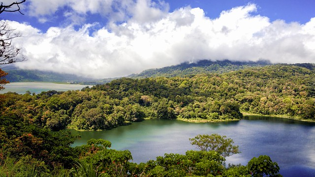 two lakes in Bali