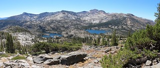 1807 Lower, Middle, and Upper Velma Lakes can all be seen in this panorama shot from the Tahoe-Yosemite Trail | by _JFR_
