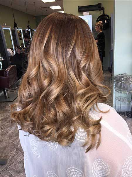 Trendy Hair Highlights : Golden Brown Hair Colors | Trendy H