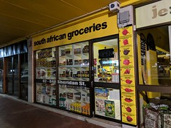 South African Grocery shop