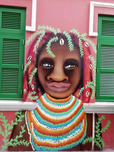 Graffiti na Rua dos Mercadores