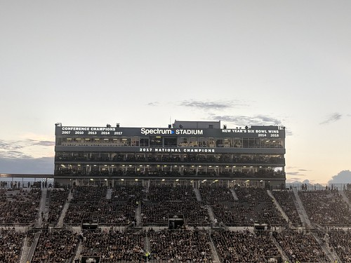 Spectrum Stadium Press Box