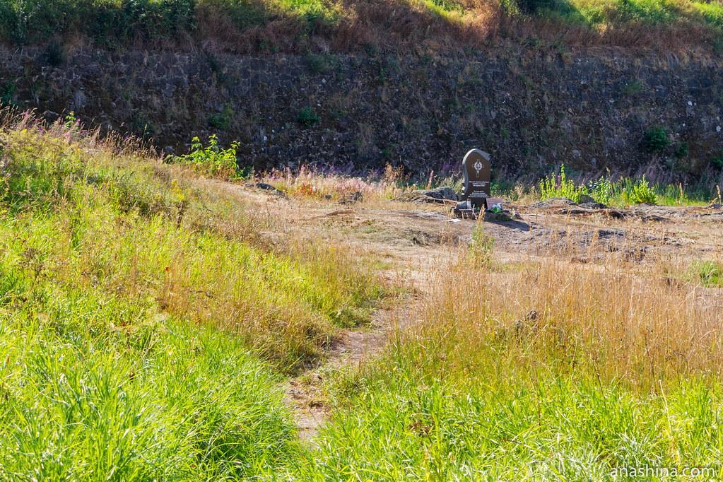 Памятник невинно убиенным в Выборгской резне, Выборг, Анненские укрепления
