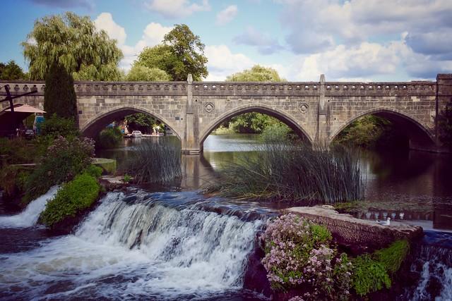 Bathampton Weir and Toll Bridge