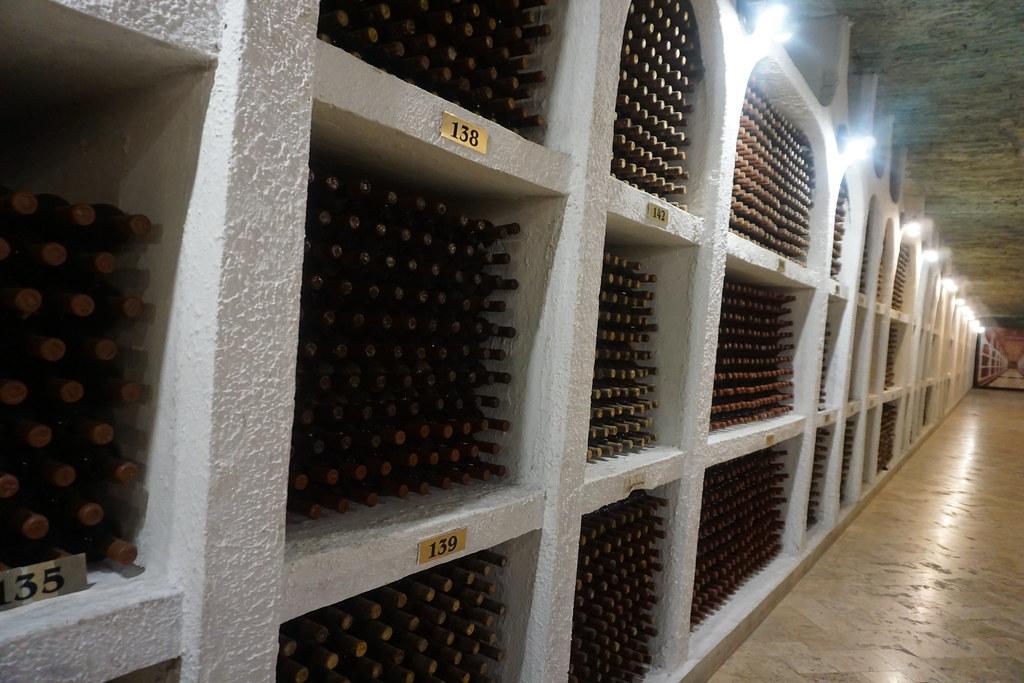 Wine Cellar, Cricova Winery, Moldova