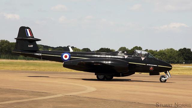 Meteor T.7 WA638 G-JWMA - Martin Baker Aircraft Company Ltd