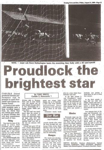 Carlisle V Newcastle 10-8-89 | by cumbriangroundhopper