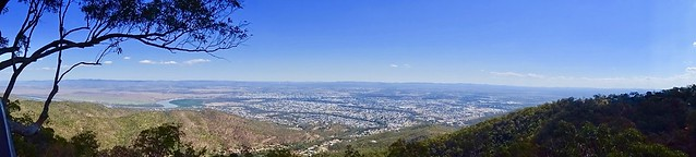 Rockhampton City view from Mount Archer.