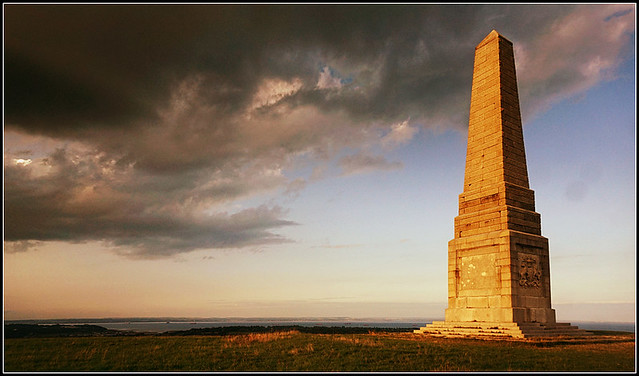 Yarborough Monument, Culver Down.