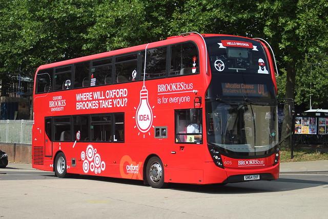 605 SM64OXF Oxford Bus Co