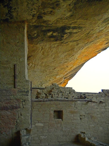 Balcony House, a cliff dwelling in Mesa Verde National Park, Colorado