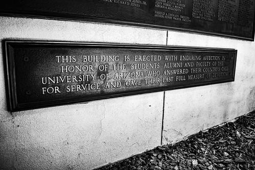 UofA Veterans Memorial