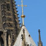 Kreuz auf dem Kölner Dom