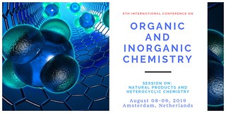 chemistry   by Conference on Organic and Inorganic Chemistry
