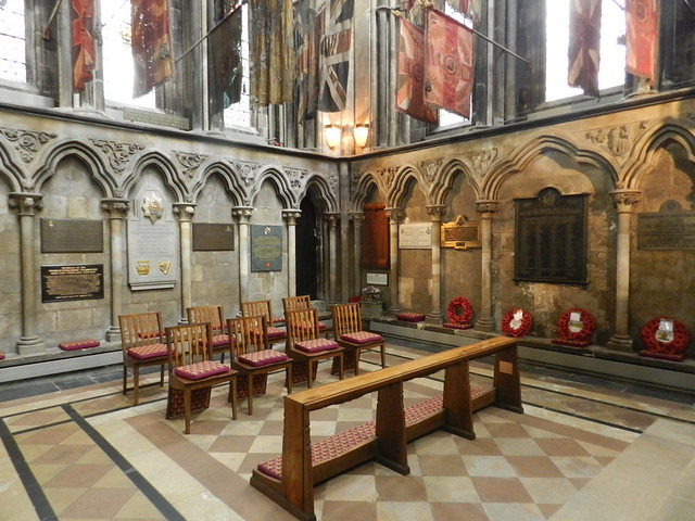 St George's Chapel, Worcester Cathedral, Sep 2018