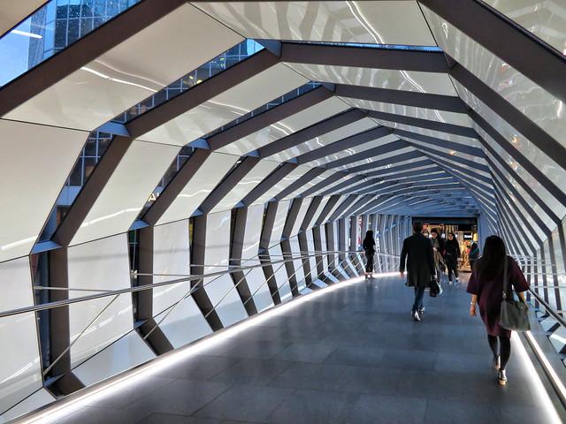 Pedestrian Bridge, Eaton Centre, Toronto, Ontario