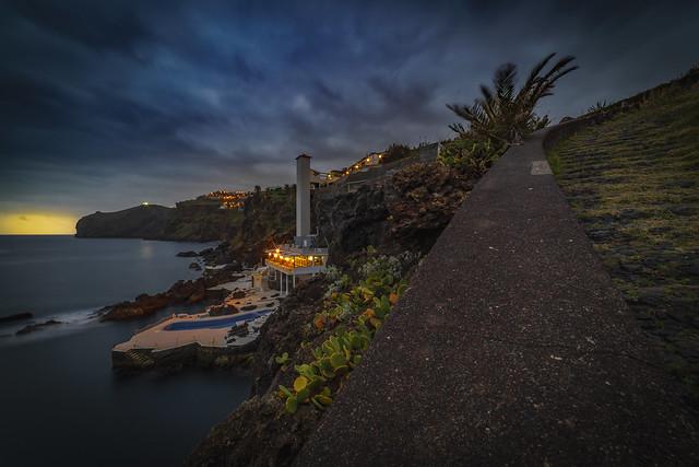 Madeira - Blick auf das Hotel Galosol in Canico