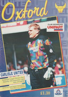 Oxford V Carlisle 18-9-95   by cumbriangroundhopper