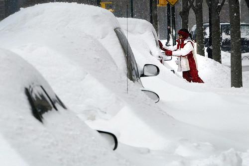 New York Snow Storm 2003